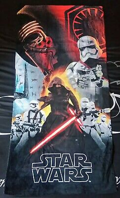 SERVIETTE ENFANT DISNEY STAR WARS LASER 70 CM X 140 CM