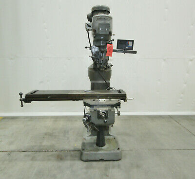 "14001 Bridgeport Series I Vertical Knee Mill, 9"" x 48"" Table"