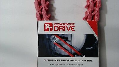 "Fenner Drives PowerTwist Drive B17/5L  5/8"" Link V-Belt  6 Foot"