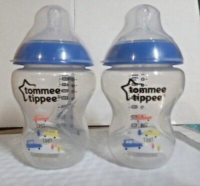 Tommee Tippee 2 Pack Closer To Nature Baby Bottles 9 Ounce