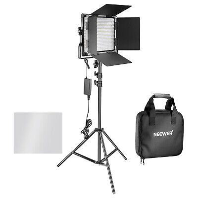 Neewer Dimmable 660 LED Video Light + Stand for Product Photography Studio