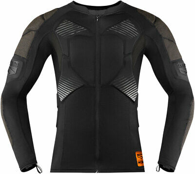 Icon Field Armor Compression Shirt (Black) XL (X-Large)