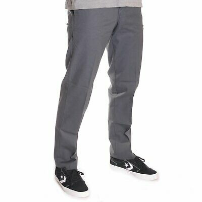 Dickies DARK NAVY Slim Straight Fit Poplin Work Pants WP805DN