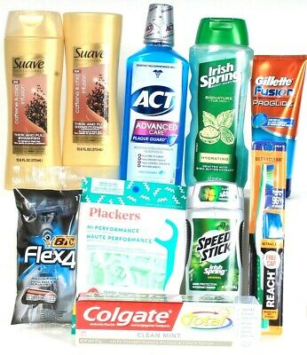 MySaver Men's Monthly Premium Saver 10 Piece Toiletry Box Three Free Shipping