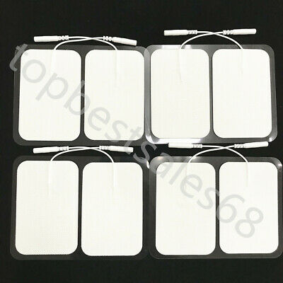 Large TENS Unit Electrode Pads Adhesive Gel Patches fr Muscle Stimulator Therapy