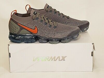 Nike Air Vapormax Flyknit 2 -Dark Stucco/Light Silver - Men sz 10.5 - 942842-011