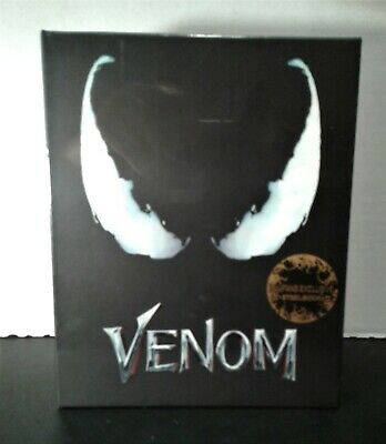 VENOM [4K+2D Blu-ray SteelBook (2 versions) Blufans One Click #52] NOW AVAILABLE