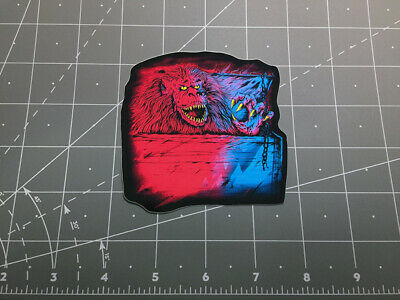 Creepshow Fluffy the Crate Monster movie decal sticker 80s horror stephen king