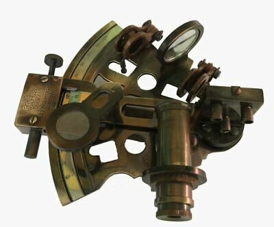 Nautical Kelvin & Hughes London 1917 Perfect Sextant Vintage Style office Decor