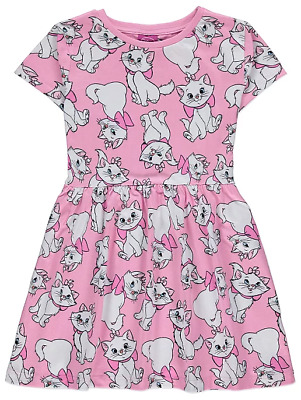 Disney Girls Aristocats Marie Pink Dress size 2-3 Years BNWT