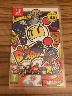 Super Bomberman R Nintendo Switch Original Artwork And Game Case Only