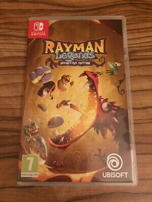 Rayman Legends Nintendo Switch Original Artwork And Game Case Only