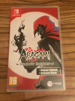 Aragami Shadow Edition Nintendo Switch Original Artwork And Game Case Only