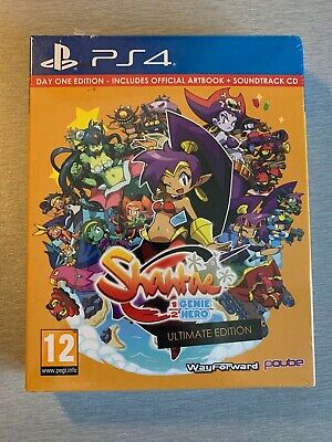 Jeu PS4 - SHANTAE HALF GENIE HERO - DAY ONE EDITION - NEUF SOUS BLISTER