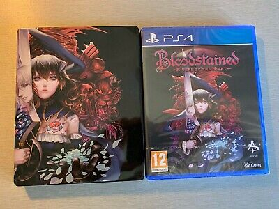 Jeu PS4 - BLOODSTAINED RITUAL OF THE NIGHT + STEELBOOK - NEUF SOUS BLISTER