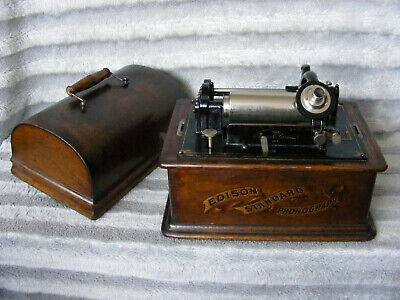 Rare Antique Thomas Edison Standard Phonograph Model A Serial S92869 Reproducer