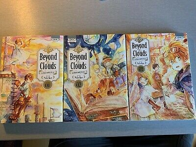 Lot Mangas BEYOND THE CLOUDS - NICKE - TOMES 1 à 3 - EDITIONS KI-OON