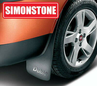 Fiat 500 Pair of Rear Mudflaps Mud Guards New and Genuine 50901694