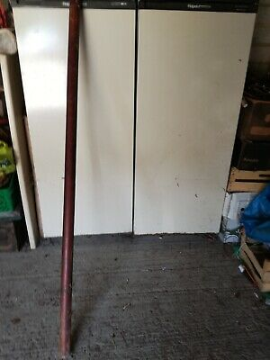 ANTIQUE VICTORIAN ROSEWOOD/MAHOGANY CURTAIN POLE  5' 1.5mts  40MM