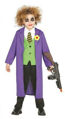Costume Joker buffone assassino bambino