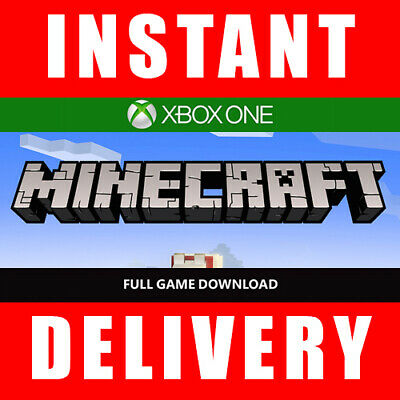 Minecraft Xbox One Edition Full Game Download - Instant Dispatch 24/7