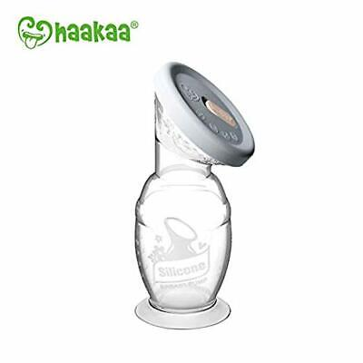 Haakaa Silicone Breast Pump with Suction Base & Silicone Cap Combo 150ml Safe