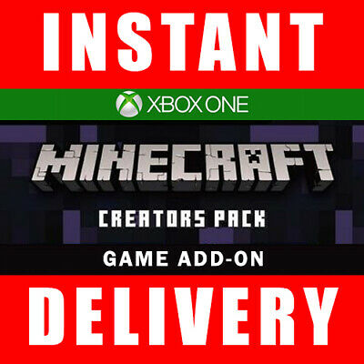 Minecraft Creators Pack DLC Xbox One Download - Instant Dispatch 24/7