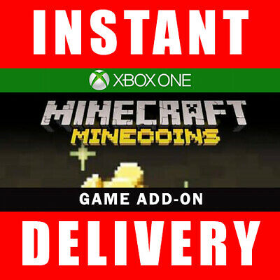 Minecraft 1000 Minecoins DLC Xbox One Download - Instant Dispatch 24/7