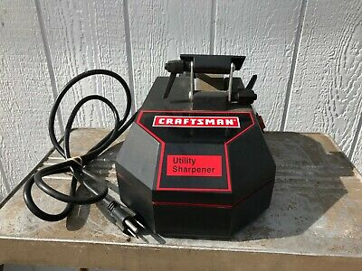 CRAFTSMAN UTILITY SHARPENER Electric Stone Axe Knife Tool