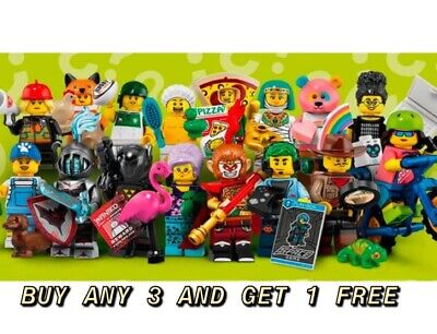 Lego Minifigures Series 19 71025 Pick Your Own Buy Any 3 Get 1 Free New Unopened