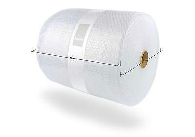 750Mm X 75M Roll Quality Bubble Wrap Small Bubbles Protection Packaging Ship