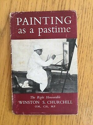 Painting as a Pastime by Sir Winston S. Churchill (Hardback, 1948,1st Edition)