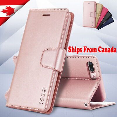 For Samsung Galaxy A5 2017 A8 2018 Wallet Leather Flip PU Shockproof Case Cover