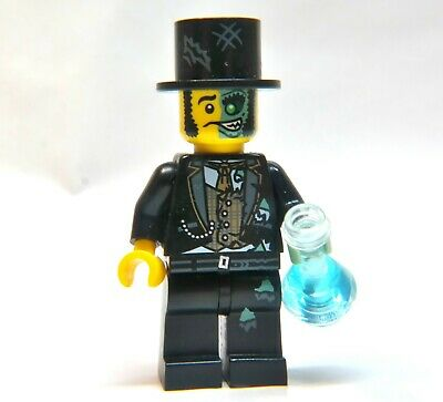 NEW Lego Minifig BLACK TOP HAT Mr Good Evil Zombie Jekyll Hyde Groom Head Gear