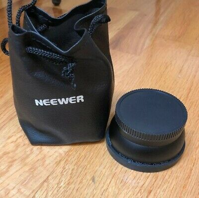 Neewer 58mm 0.45X High Definition Super Wide Angle Camera Lens for Canon Nikon
