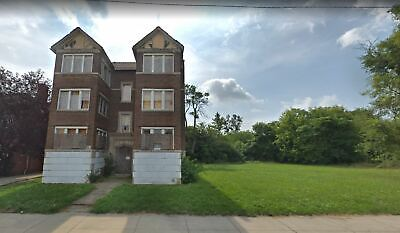 Detroit Apartment Building For Sale -13 Units