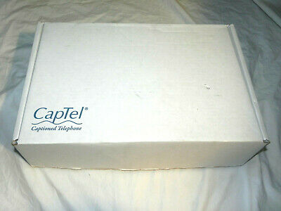 BRAND NEW CapTel 2400i Large Touch Screen Captioning Telephone FREE SHIPPING