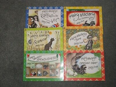 Hairy Maclary & friends 6 Books + Bag . Lynley Dodd
