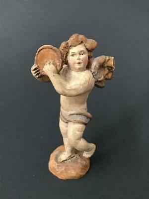 Antique19th. Century Venetian Hand Carved Petite Sculpture, Italy