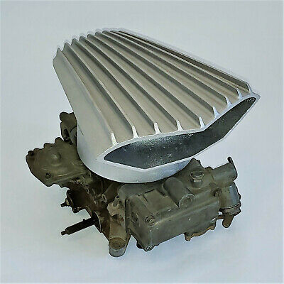 AIR SCOOP RIBBED Cal Custom 40-44 Mad Max Holley Rochester 4 Barrel Carb  Each