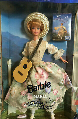 Maria in the Sound of Music 1995 Barbie Doll Hollywood Legends collection