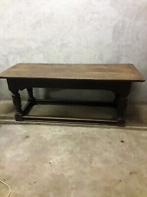 Superb Antique Oak Refectory Table