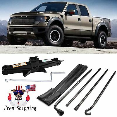 For 2004-2016 Ford F-150 Spare Tire Tool Bag W// Scissor Jack Car OEM Replacement