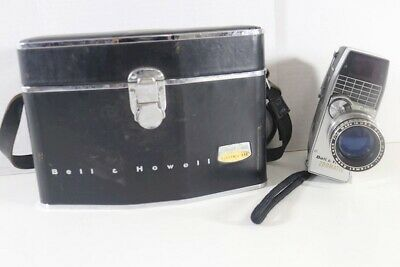 Bell & Howell Zoomatic Electric Eye Director Series Perpetua 8mm Movie Camera