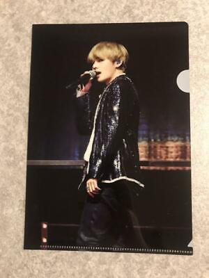 BTS V taehyung WINGS Tour JAPAN DVD Limited Official Special Clear File Folder