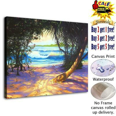 """Caribbean Home Decor HD Canvas Print Picture room Wall Art Painting 12""""x16"""""""