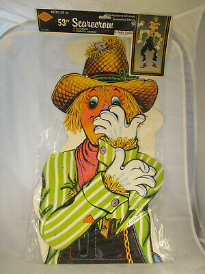 """NIP 1 VINTAGE STYLE BEISTLE-HALLOWEEN-JOINTED MUMMY-41/""""-TALL-DIECUT-GET-1-TODAY!"""