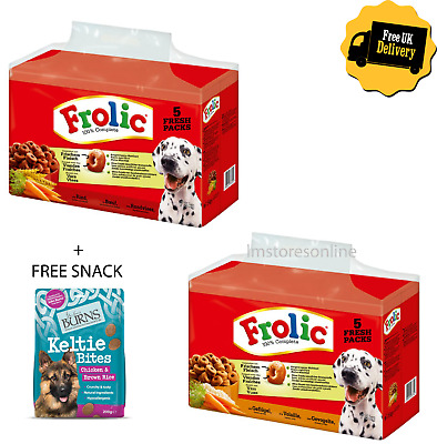 FROLIC COMPLETE Double Pack 2 x 7.5KG - Beef/Chicken Balanced Dry Pet Dog Food