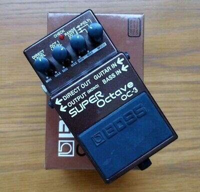 Boss OC-3 Super Octave Guitar Effects Pedal Boxed