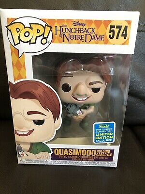 Quasimodo With Gargoyle Funko Pop Vinyl Figure Disney Hunchback Of Notre Dame